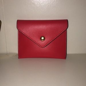 Small Red Change Purse